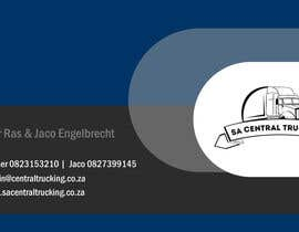 spdhage tarafından Design a letterhead and business cards for a trucking company için no 10