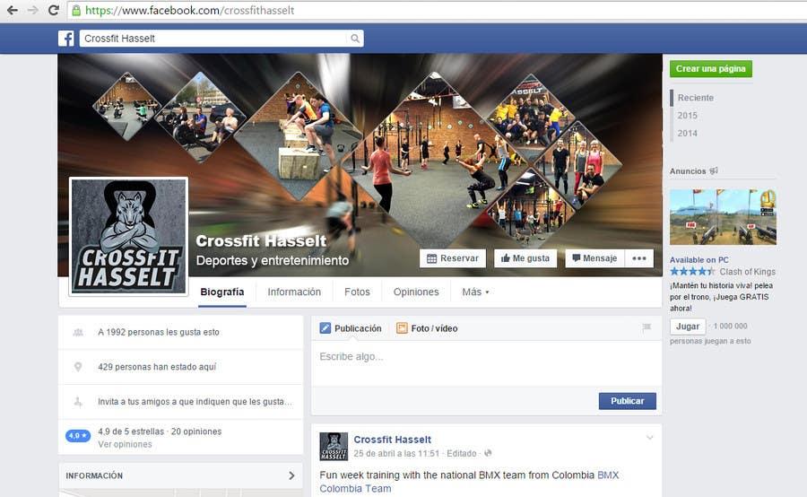 Contest Entry #                                        17                                      for                                         Ontwerp een Advertentie for Crossfit Hasselt on Facebook