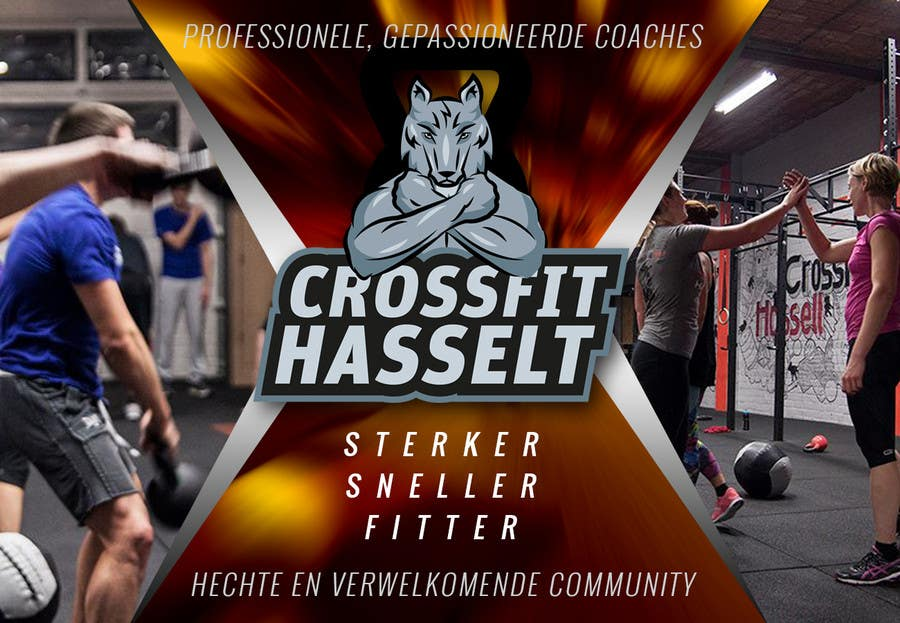 Contest Entry #                                        28                                      for                                         Ontwerp een Advertentie for Crossfit Hasselt on Facebook