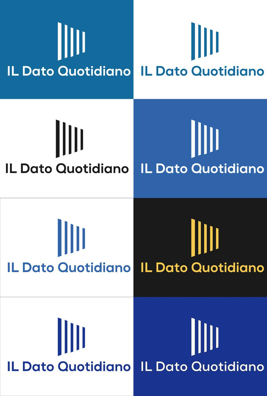Konkurrenceindlæg #32 for Data Journalism site logo - Il Dato Quotidiano