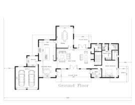 #3 for Design a floor plan for a house i am planning to build. af biodomo