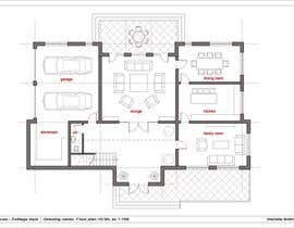 #8 untuk Design a floor plan for a house i am planning to build. oleh Marietka
