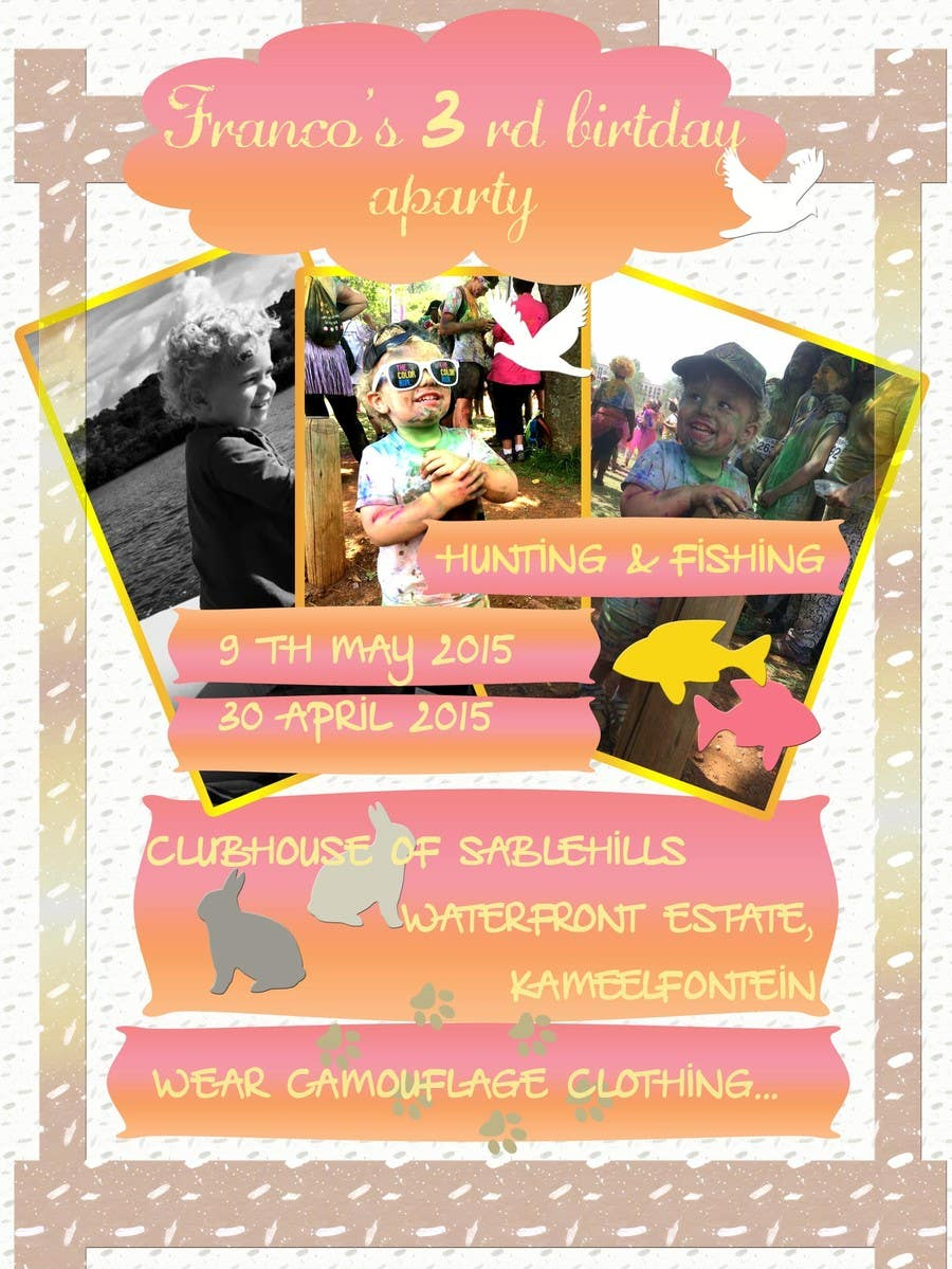 Contest Entry #                                        7                                      for                                         Kiddies invitation