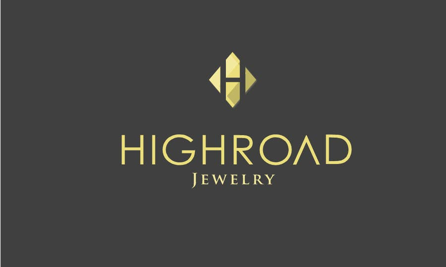 "Konkurrenceindlæg #100 for Logo for a luxe jewelry brand ""High Road"""