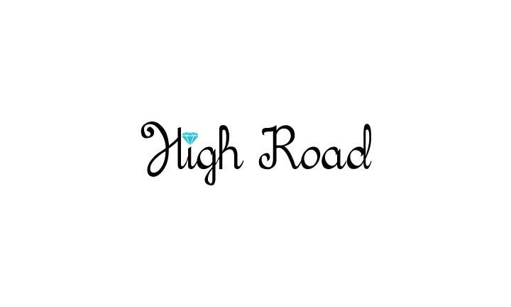 """Konkurrenceindlæg #72 for Logo for a luxe jewelry brand """"High Road"""""""