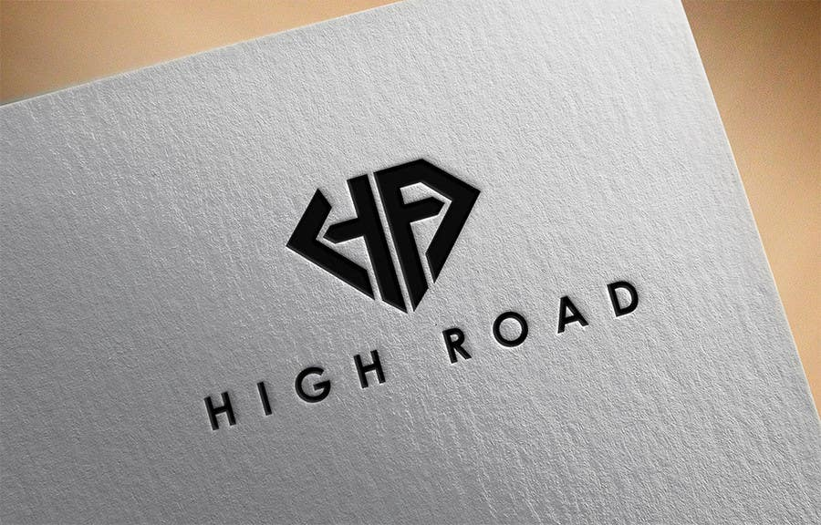 """Konkurrenceindlæg #112 for Logo for a luxe jewelry brand """"High Road"""""""