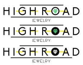 "#90 for Logo for a luxe jewelry brand ""High Road"" af sergiundr"