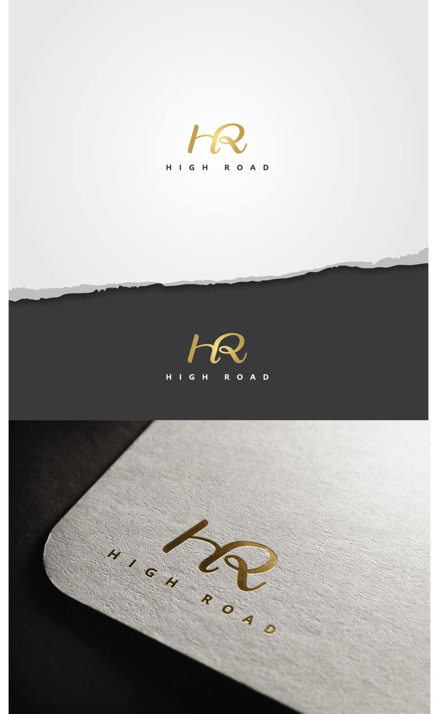 "Konkurrenceindlæg #45 for Logo for a luxe jewelry brand ""High Road"""