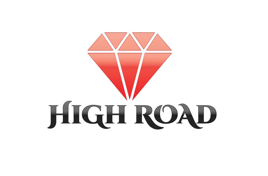 "Konkurrenceindlæg #168 for Logo for a luxe jewelry brand ""High Road"""