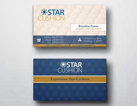 #52 para Design some Business Cards for Star Cushion por peerage