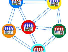 #22 untuk Design a graphic for Networked Stores oleh yangkecoy