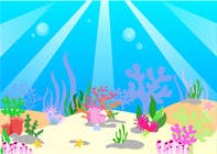 Caricature & Cartoons Kilpailutyö #26 kilpailuun under sea background