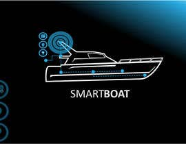 nº 33 pour Illustration Design for SmartBoat par danumdata