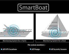 #43 para Illustration Design for SmartBoat de priyascolddog