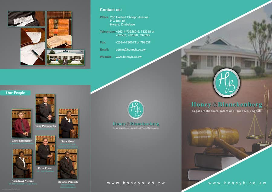 Contest Entry #20 for urgent Trifold Brochure needed.