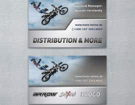 #2 untuk DESIGN Of a Business Card for an Motorcycle helmet distribution company oleh irinalubnina