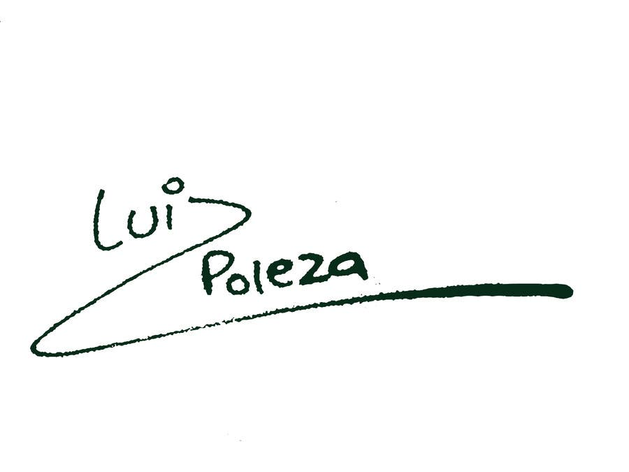 Kilpailutyö #139 kilpailussa Personal signature