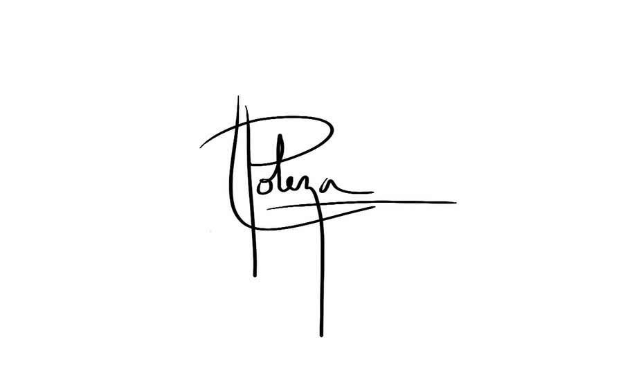 Kilpailutyö #129 kilpailussa Personal signature