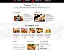 #2 for Design a Website Mockup for Maka Mia Pizza Franchise af nikil02an