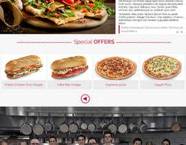 #3 para Design a Website Mockup for Maka Mia Pizza Franchise por freellancerr