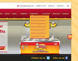 #8 for Design a Website Mockup for Maka Mia Pizza Franchise af descomgroup