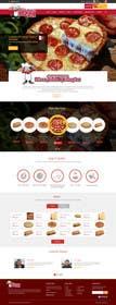 Nro 5 kilpailuun Design a Website Mockup for Maka Mia Pizza Franchise käyttäjältä ankisethiya