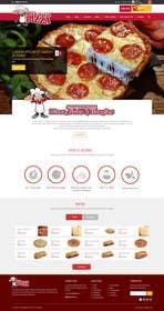 Nro 6 kilpailuun Design a Website Mockup for Maka Mia Pizza Franchise käyttäjältä ankisethiya