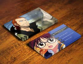 #30 para Design some Business Cards for anime site por youart2012