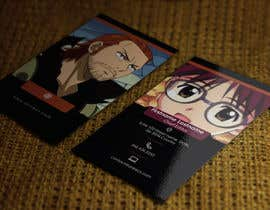 #33 para Design some Business Cards for anime site por youart2012