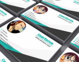#28 para Design some Business Cards for anime site por zradit