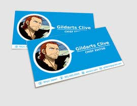 #31 para Design some Business Cards for anime site por fireacefist
