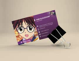 #24 for Design some Business Cards for anime site by logodesigingpk