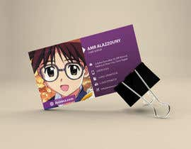 #25 for Design some Business Cards for anime site by logodesigingpk