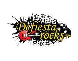 #39 para Diseñar un logotipo para defiesta.rocks por hiteshtalpada255