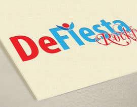 #19 para Diseñar un logotipo para defiesta.rocks por vasked71