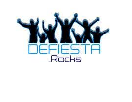 #36 para Diseñar un logotipo para defiesta.rocks por luisrobertohg