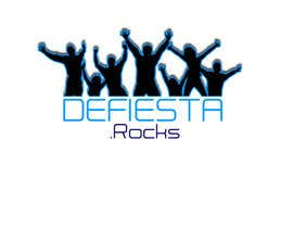#36 untuk Diseñar un logotipo para defiesta.rocks oleh luisrobertohg