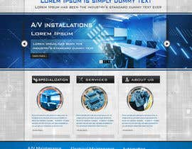 #21 for Build a Website for new electrical/electronic contractor af peaceonweb