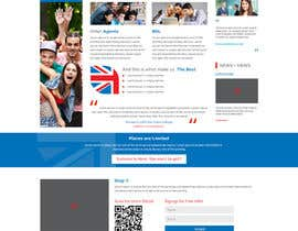 #3 for Design a homepage for an educational company af conceptrecall