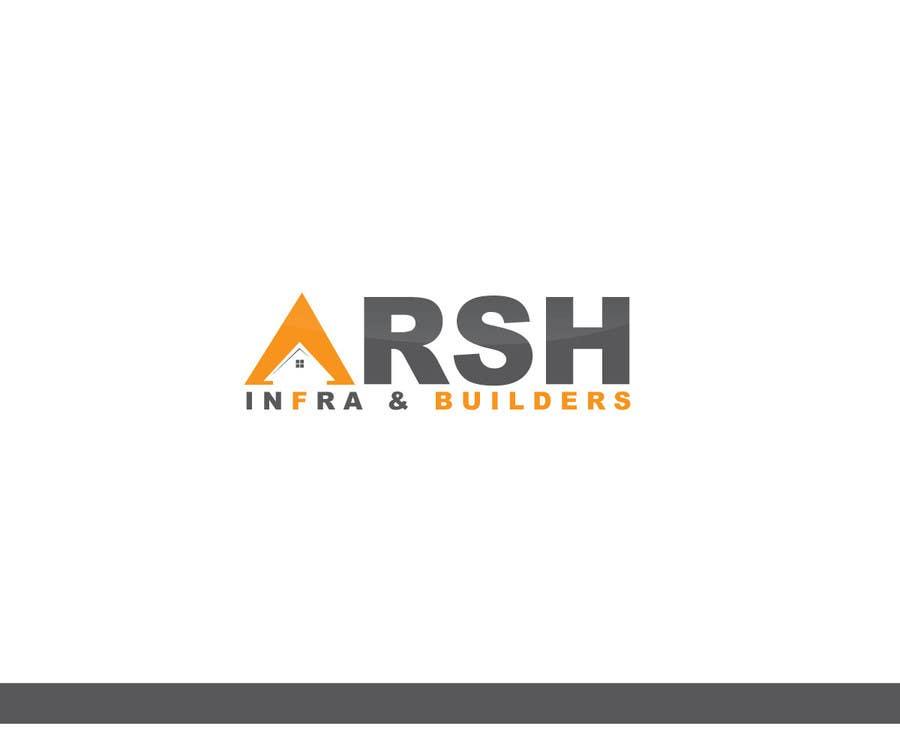"""Konkurrenceindlæg #80 for Design a Logo for """"Arsh Infra & Builders"""""""