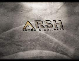 "#83 para Design a Logo for ""Arsh Infra & Builders"" por rajibdebnath900"