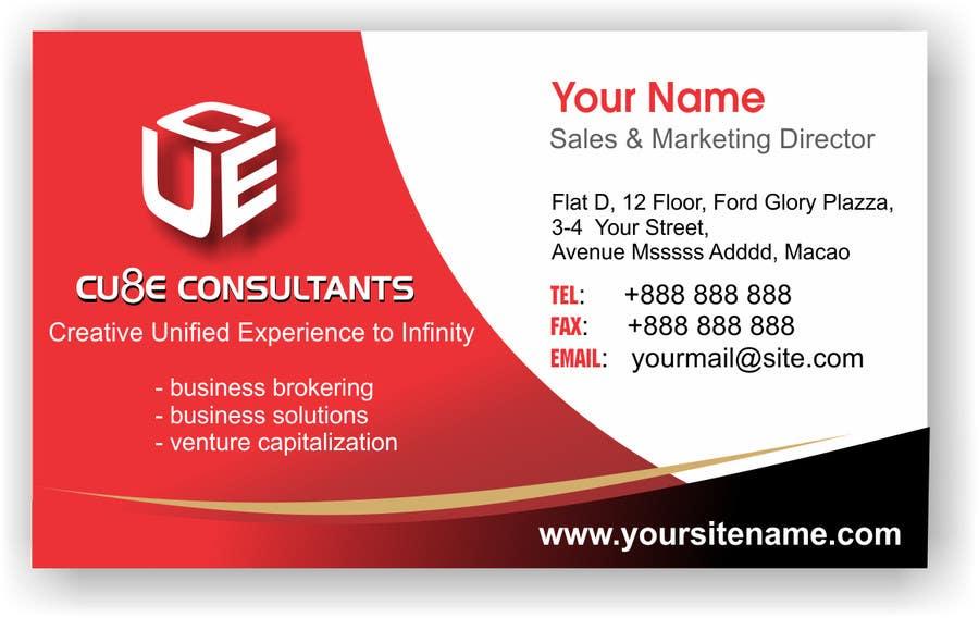 Penyertaan Peraduan #140 untuk Business card design
