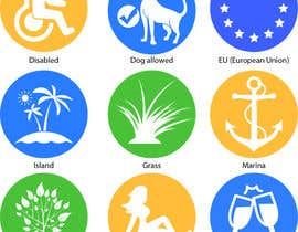 #18 for Design 15 Icons for a beach website af dmohsino