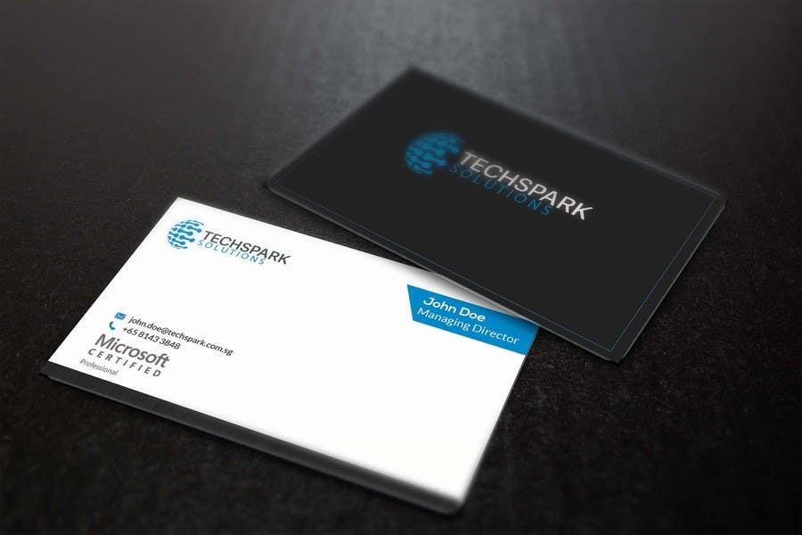 Konkurrenceindlæg #                                        46                                      for                                         Design business card