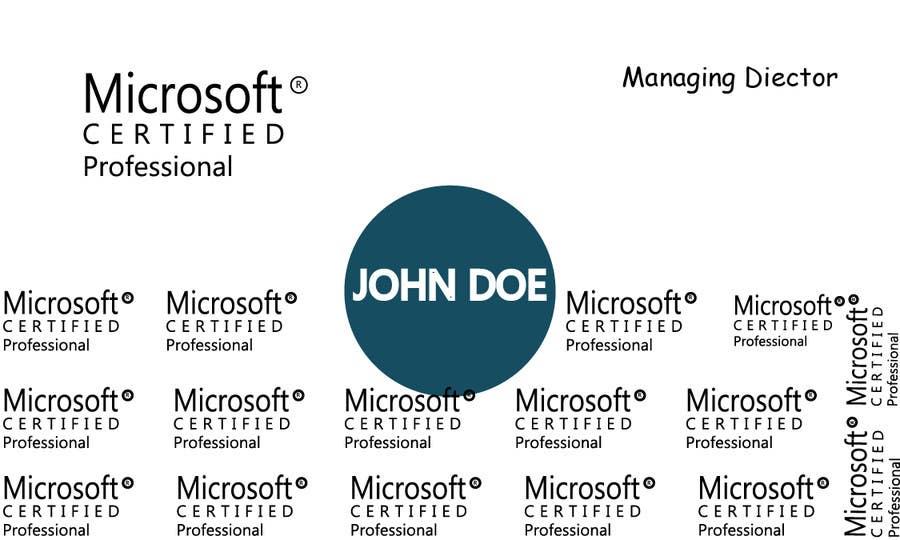 Konkurrenceindlæg #                                        22                                      for                                         Design business card