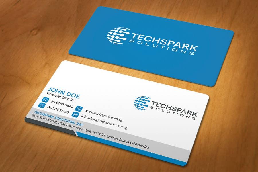 Konkurrenceindlæg #                                        58                                      for                                         Design business card
