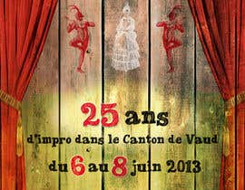 #29 cho Design a Flyer for Theater Improv bởi marchitetto85