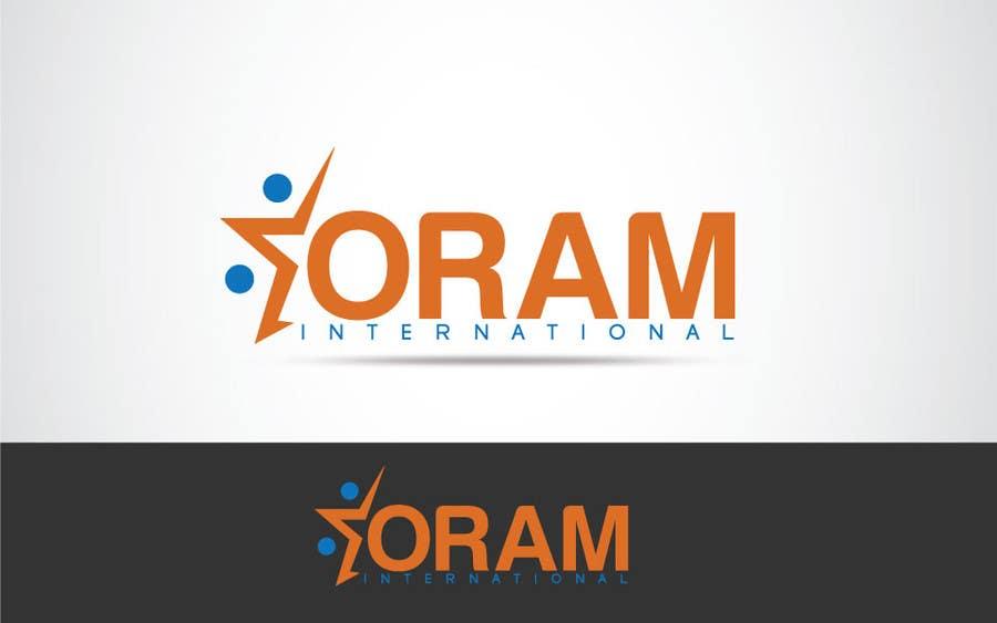 Proposition n°                                        114                                      du concours                                         Design a Logo for ORAM International