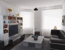 #9 untuk Do some 3D Modelling for illustrating an appartment / condo for sale oleh fernandotv12