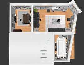 #34 untuk Do some 3D Modelling for illustrating an appartment / condo for sale oleh fernandotv12